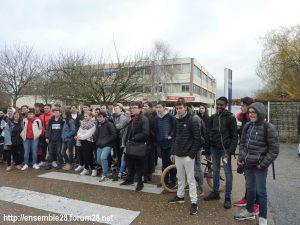 Lycéens 03-12-2018 Grève Nogent-le-Rotrou Sully 01
