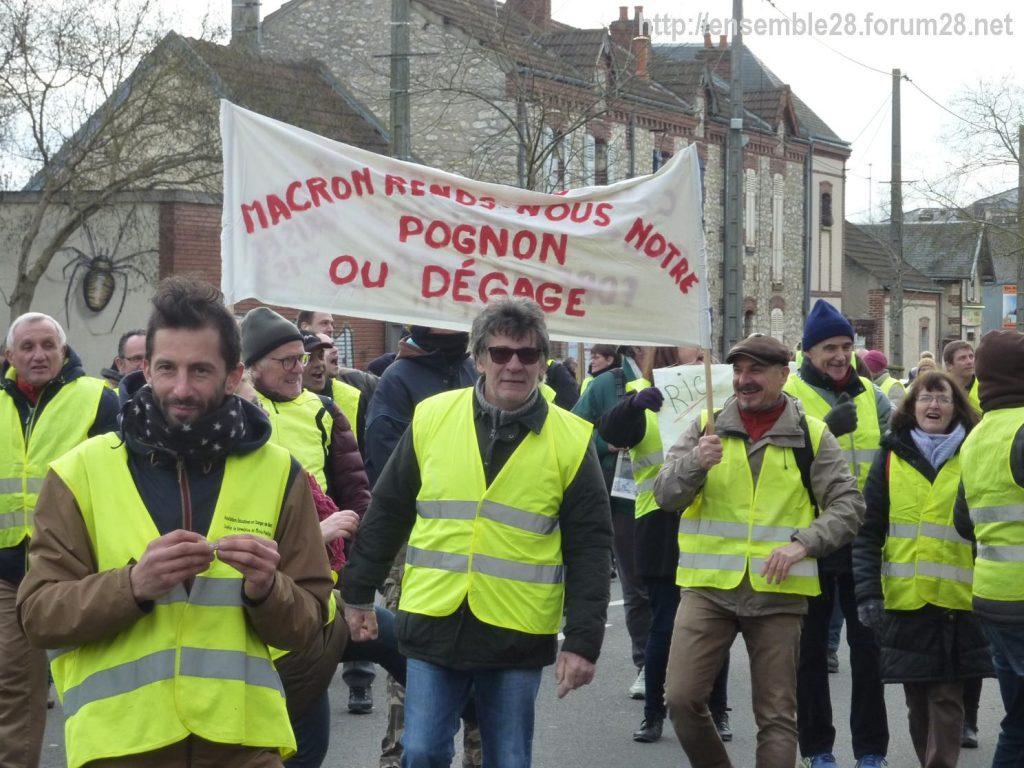 Chartres 12-01-2019 Manifestation Gilets-Jaunes 06