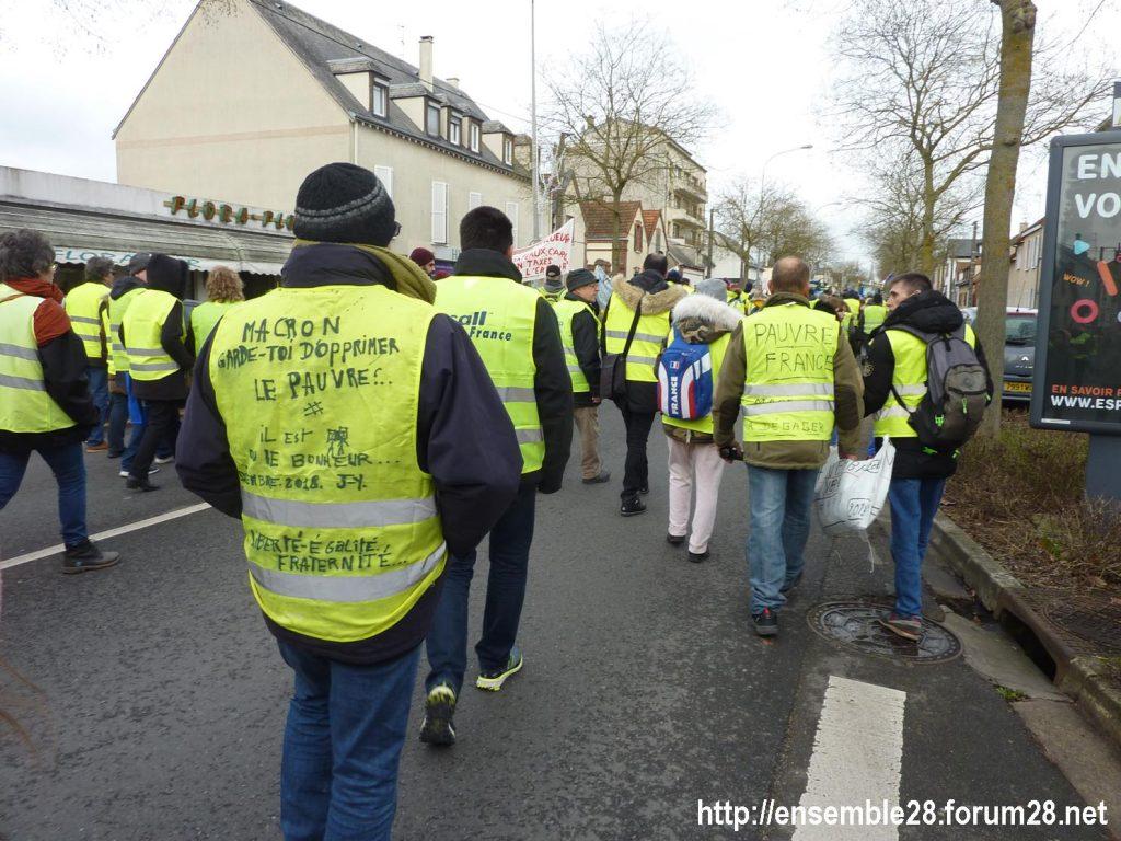 Chartres 12-01-2019 Manifestation Gilets-Jaunes 08