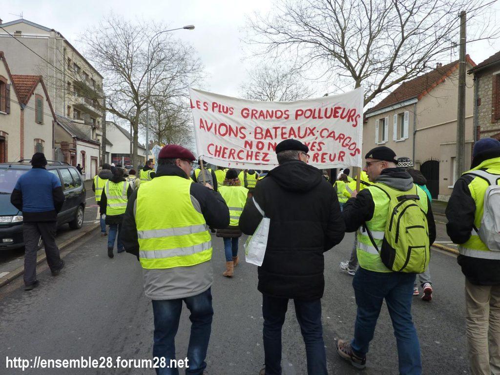 Chartres 12-01-2019 Manifestation Gilets-Jaunes 09