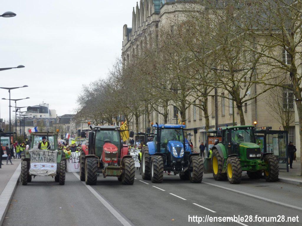 Chartres 12-01-2019 Manifestation Gilets-Jaunes 17