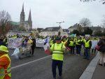Chartres 12-01-2019 Manifestation Gilets-Jaunes