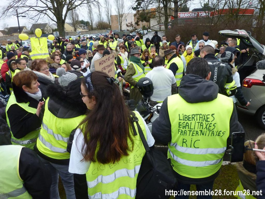 Chartres 26-01-2019 Gilets-Jaunes Manifestation 01