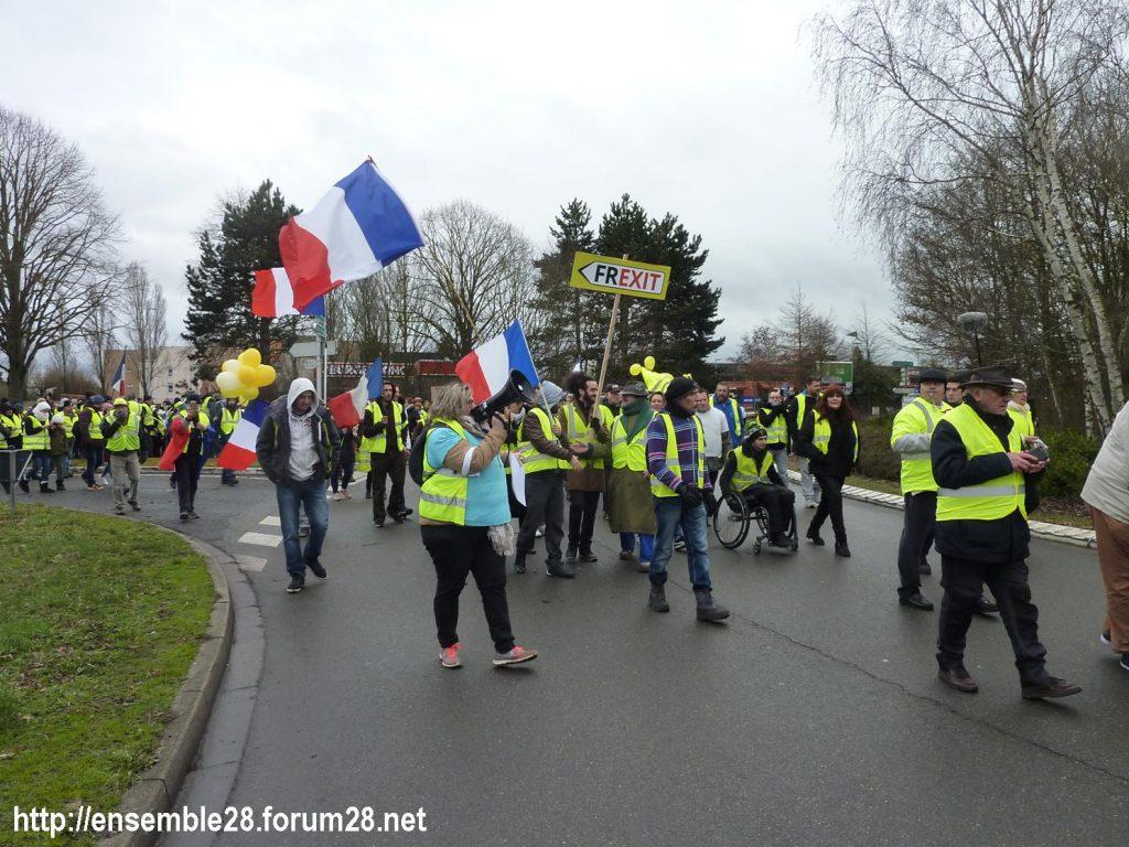 Chartres 26-01-2019 Gilets-Jaunes Manifestation 02