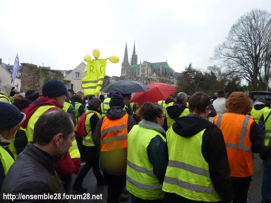 Chartres 26-01-2019 Gilets-Jaunes Manifestation 05