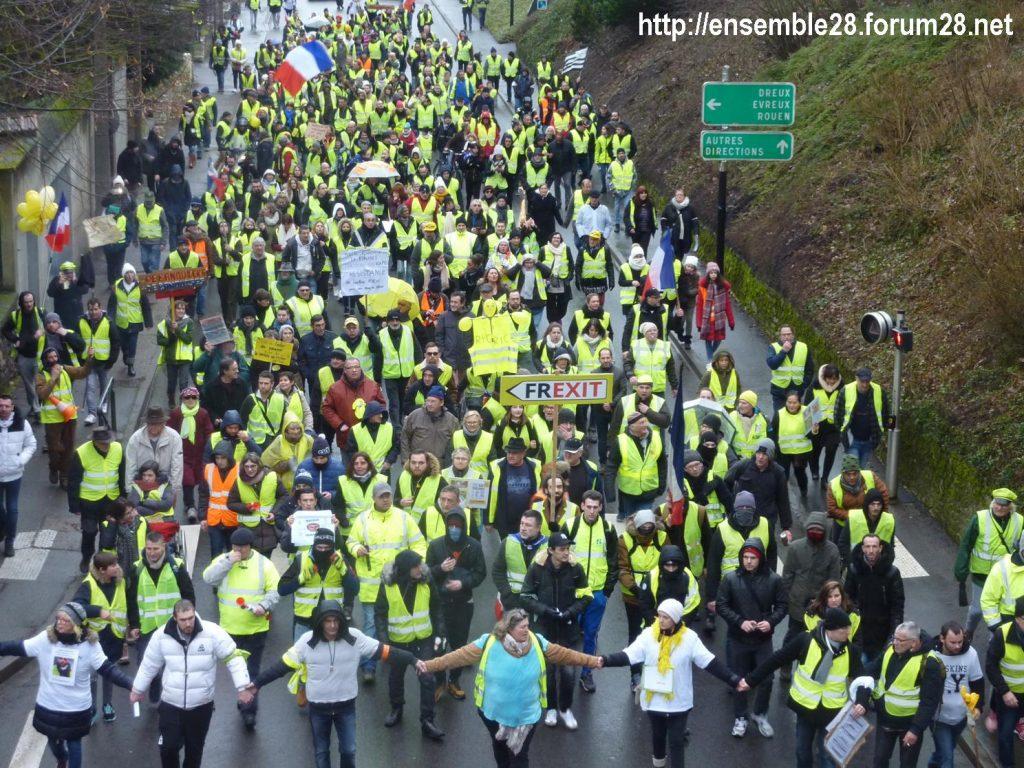 Chartres 26-01-2019 Gilets-Jaunes Manifestation 06