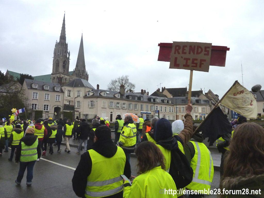 Chartres 26-01-2019 Gilets-Jaunes Manifestation 08