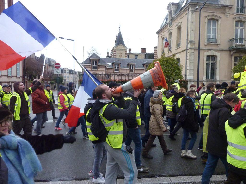 Chartres 26-01-2019 Gilets-Jaunes Manifestation 10