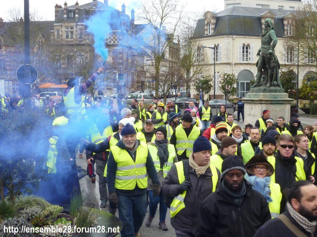 Chartres 26-01-2019 Gilets-Jaunes Manifestation 11