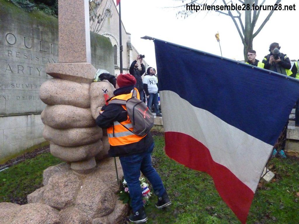 Chartres 26-01-2019 Gilets-Jaunes Manifestation 13