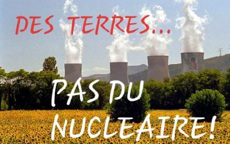 Des terres... pas du nucléaire