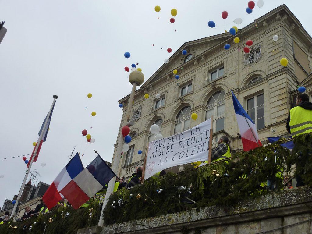 Gilets Jaunes 12-01-2019 Marche Nogent-le-Rotrou 10