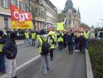 Chartres 05-02-2019 Manifestation CGT Gilets-Jaunes 00