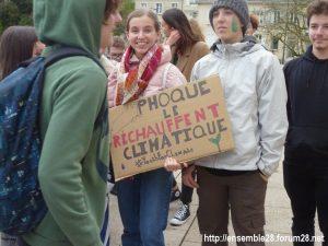 Chartres 15-03-2019 Manifestation Lycéens pour le Climat 14