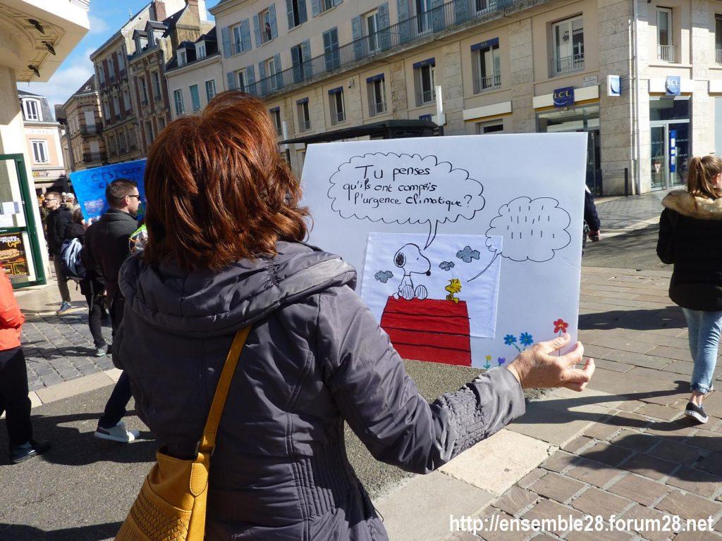 Chartres 16-03-2019 Marche du Siècle Climat 02