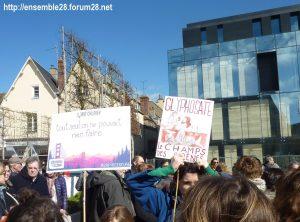 Chartres 16-03-2019 Marche du Siècle Climat 04