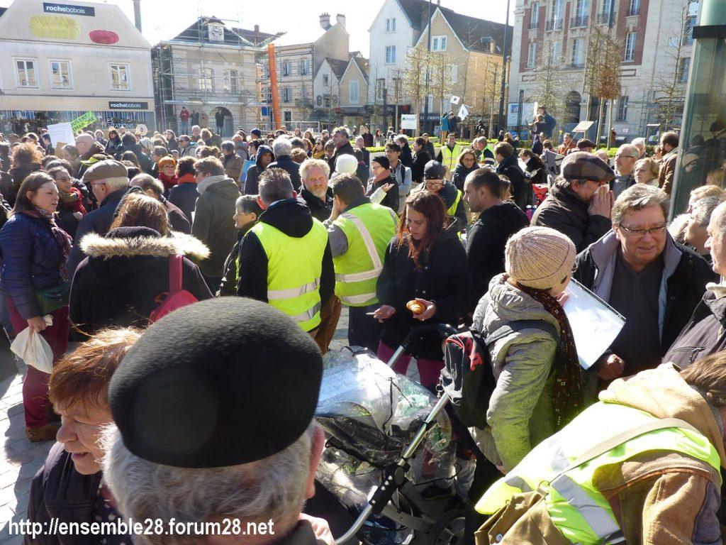 Chartres 16-03-2019 Marche du Siècle Climat 07