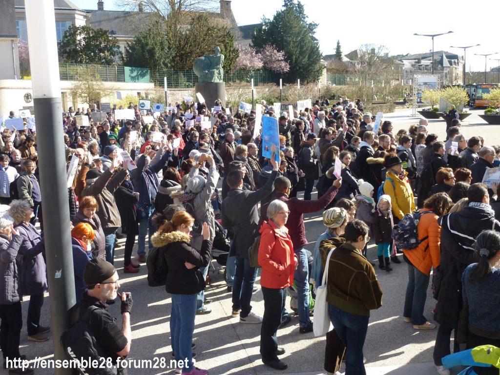 Chartres 16-03-2019 Marche du Siècle Climat 13