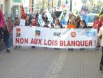 Chartres 19-03-2019 Manifestation Éducation Loi Blanquer 00