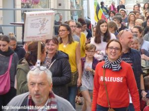 Chartres 19-03-2019 Manifestation Éducation Loi Blanquer 07