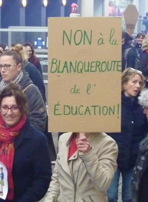 Chartres 19 mars 2019 Manifestation Interprofessionnelle