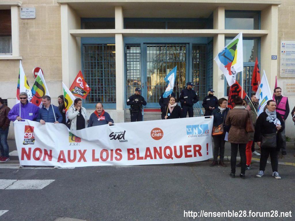 Chartres 27-03-2019 Fonction-publique Rassemblement Éducation Manifestation 08