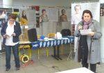 Mainvilliers Centre-Socio-éducatif 8-mars-2019 Rassemblement Droits-des-Femmes 00 Clémentine Ingold FSU