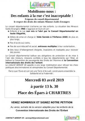 Tract AERéSP pour le 3 avril 2019 R