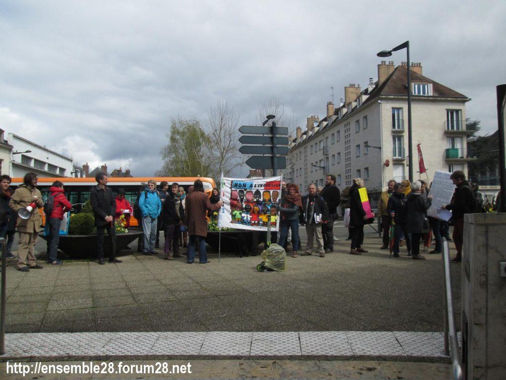 Chartres 03-04-2019 Manifestation AERéSP28 Mineurs-isolés-étrangers MIE MNA 06