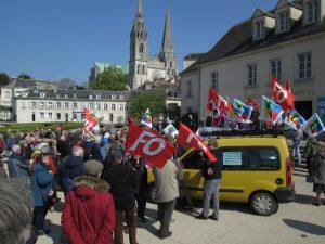 Chartres 11-04-2019 Manifestation Retraités 00