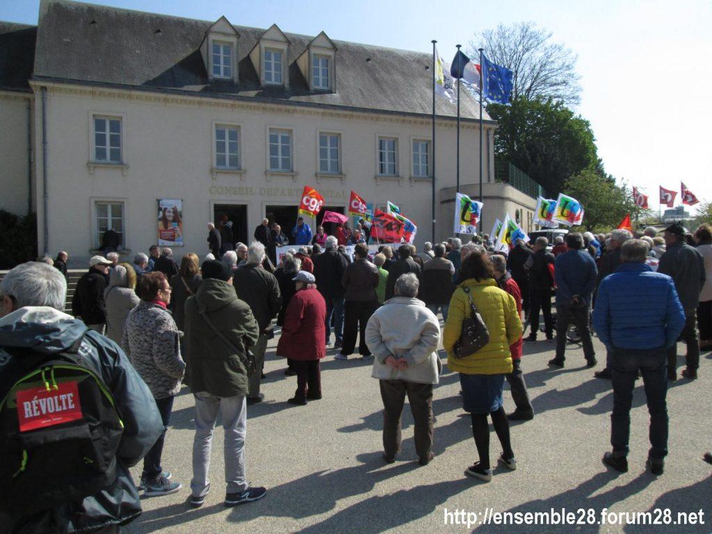 Chartres 11-04-2019 Manifestation Retraités 02
