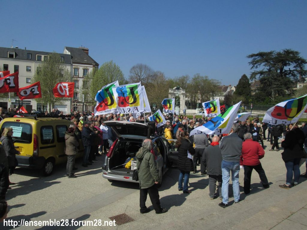 Chartres 11-04-2019 Manifestation Retraités 03
