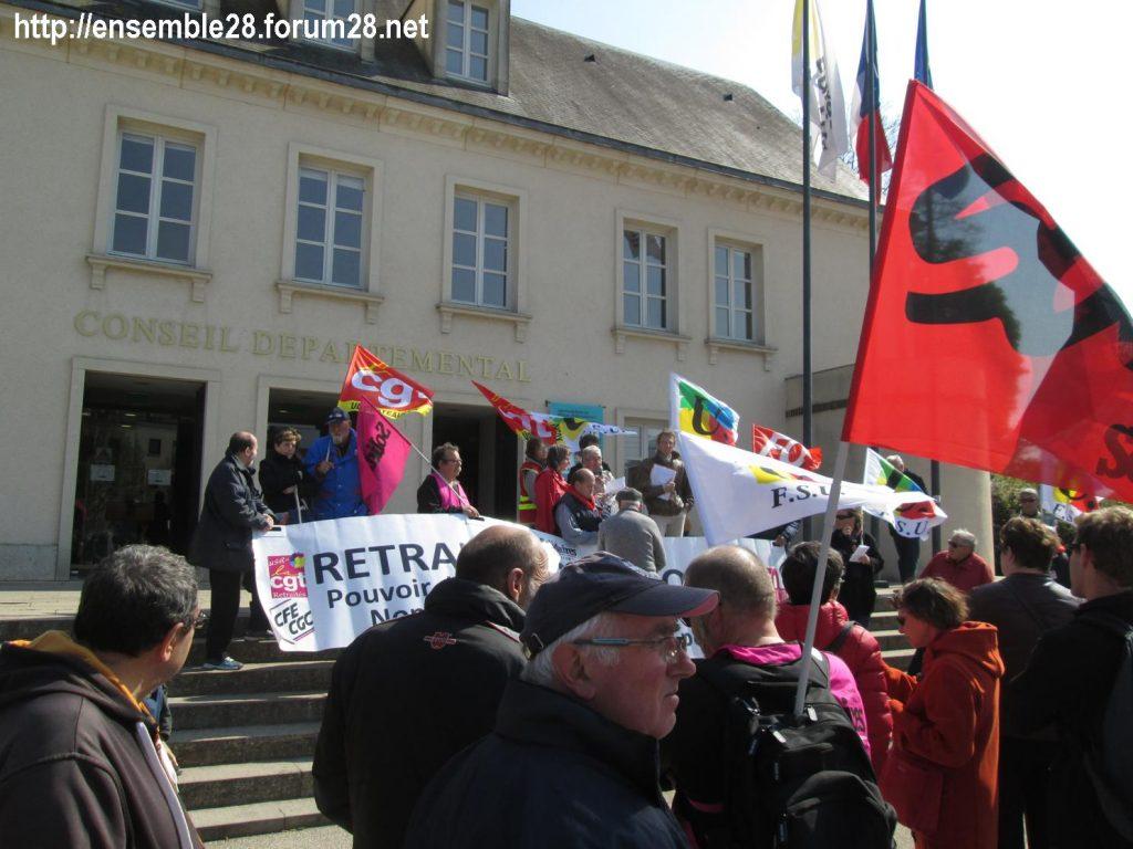 Chartres 11-04-2019 Manifestation Retraités 04