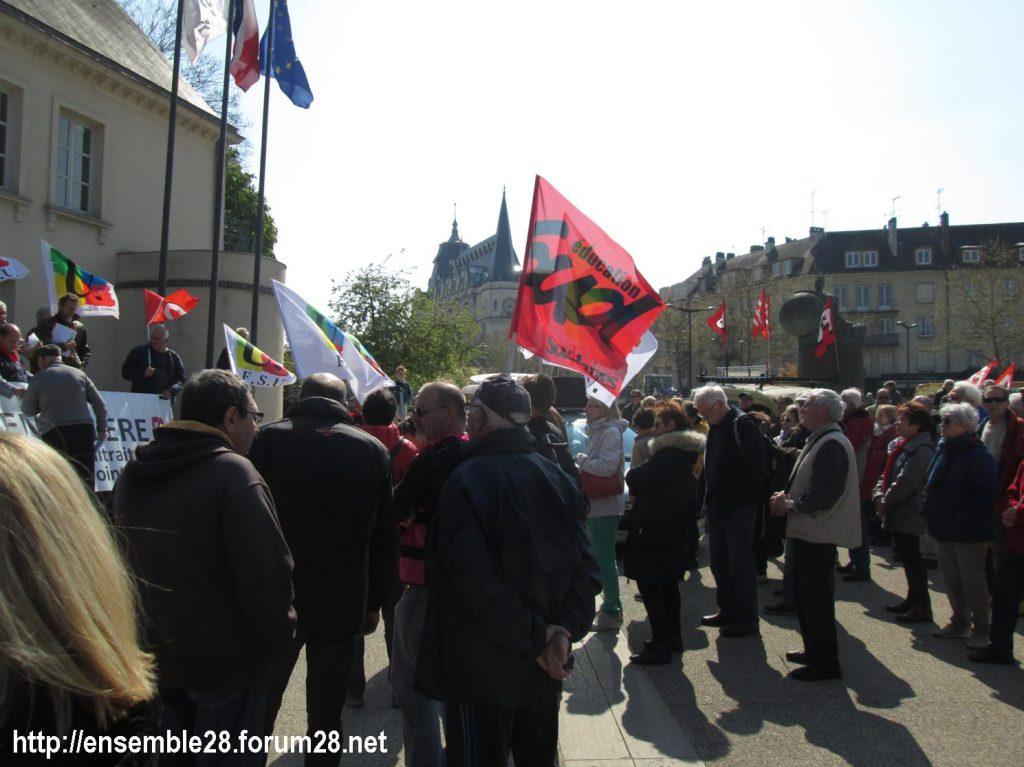 Chartres 11-04-2019 Manifestation Retraités 05