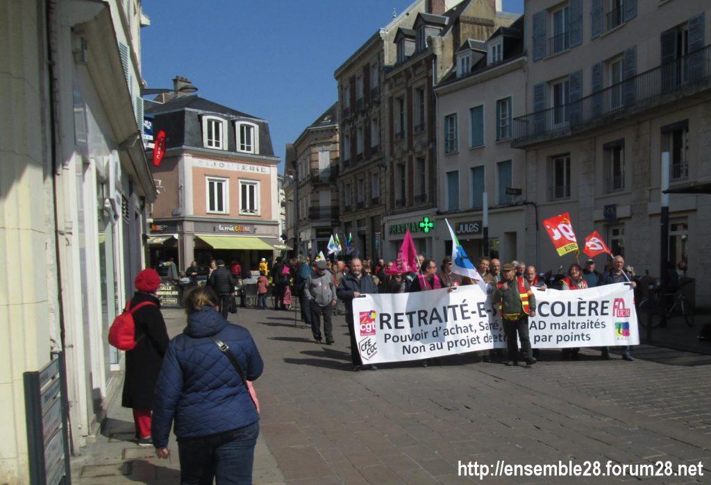Chartres 11-04-2019 Manifestation Retraités 06