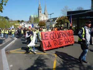 Chartres 13-04-2019 Acte XXII Manifestation régionale Gilets-Jaunes 00