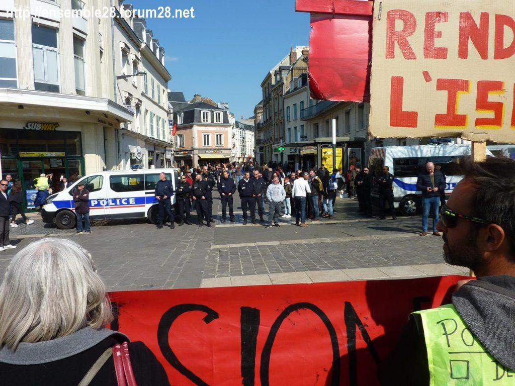 Chartres 13-04-2019 Acte XXII Manifestation régionale Gilets-Jaunes 01