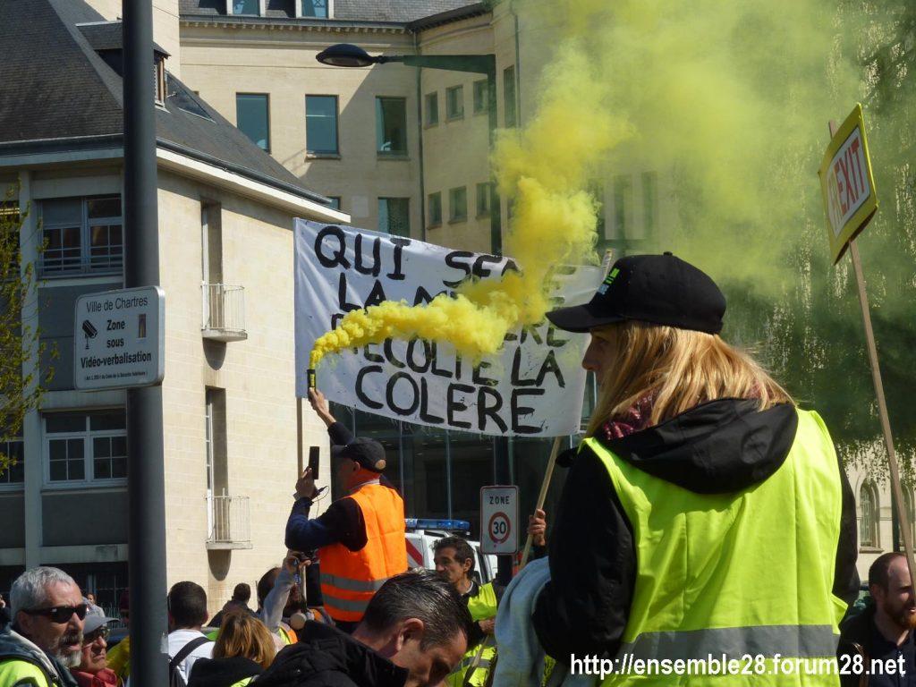 Chartres 13-04-2019 Acte XXII Manifestation régionale Gilets-Jaunes 03