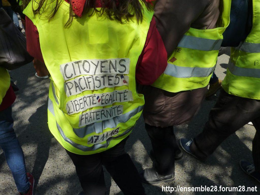 Chartres 13-04-2019 Acte XXII Manifestation régionale Gilets-Jaunes 05
