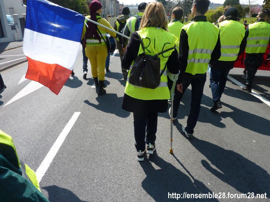 Chartres 13-04-2019 Acte XXII Manifestation régionale Gilets-Jaunes 06