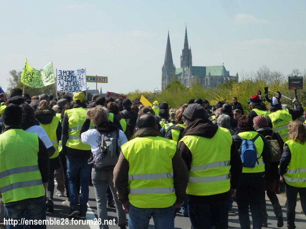 Chartres 13-04-2019 Acte XXII Manifestation régionale Gilets-Jaunes 07