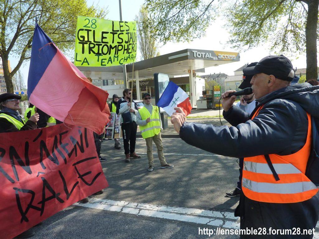 Chartres 13-04-2019 Acte XXII Manifestation régionale Gilets-Jaunes 08