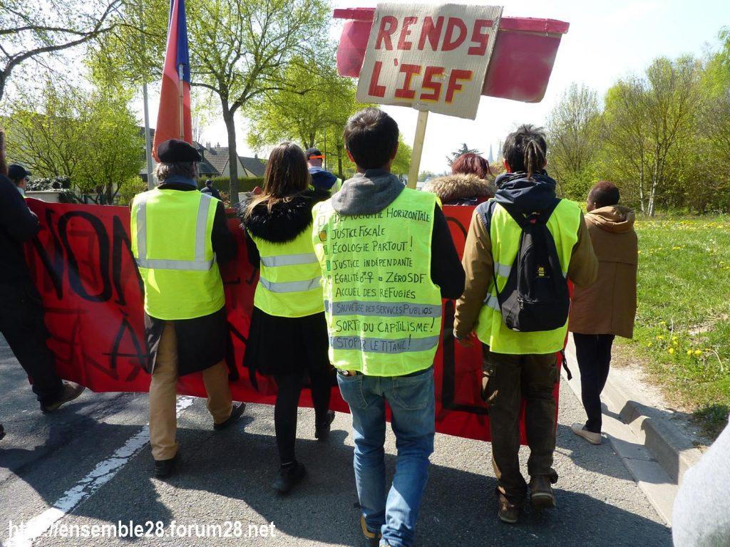 Chartres 13-04-2019 Acte XXII Manifestation régionale Gilets-Jaunes 09