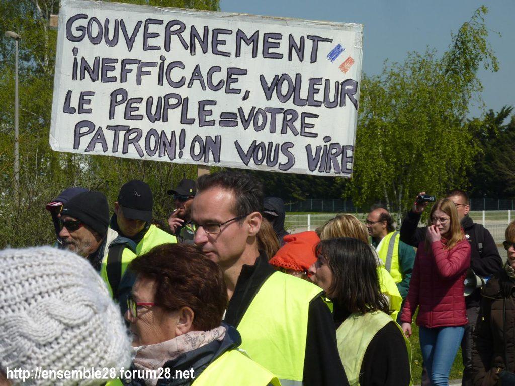 Chartres 13-04-2019 Acte XXII Manifestation régionale Gilets-Jaunes 10