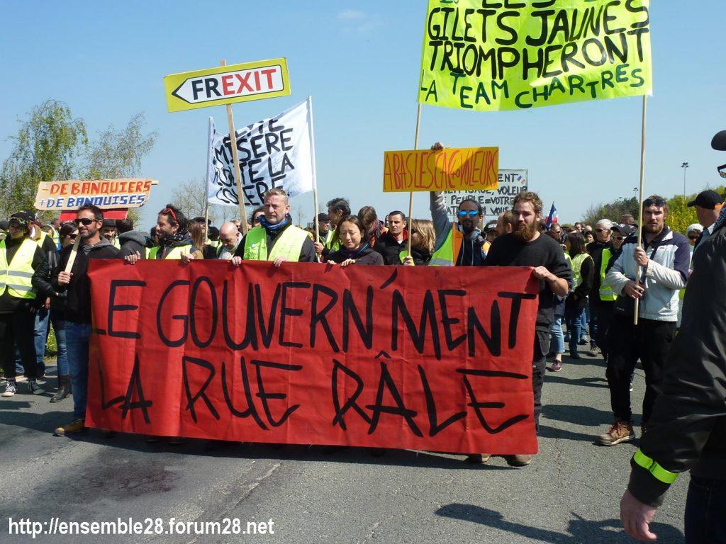 Chartres 13-04-2019 Acte XXII Manifestation régionale Gilets-Jaunes 11