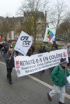 Chartres 31-01-2019 Manifestation Retraités E&L