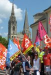 Chartres Manifestation Fonction-publique 22-05-2018