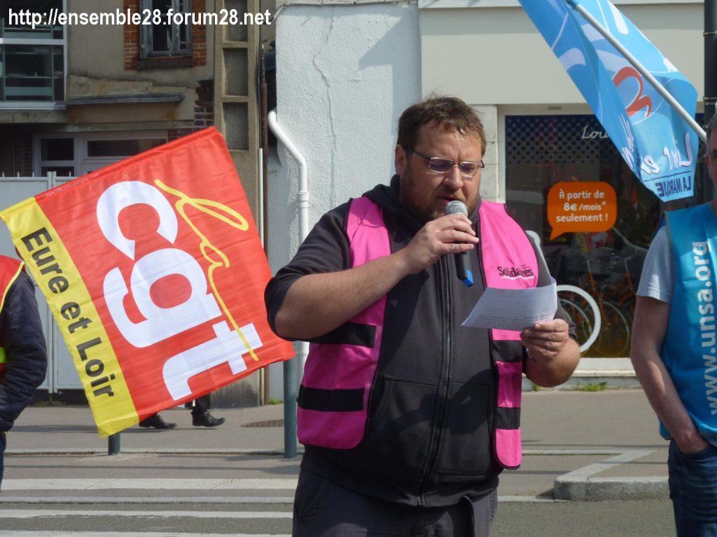 1er Mai 2019 Chartres Manifestation 01