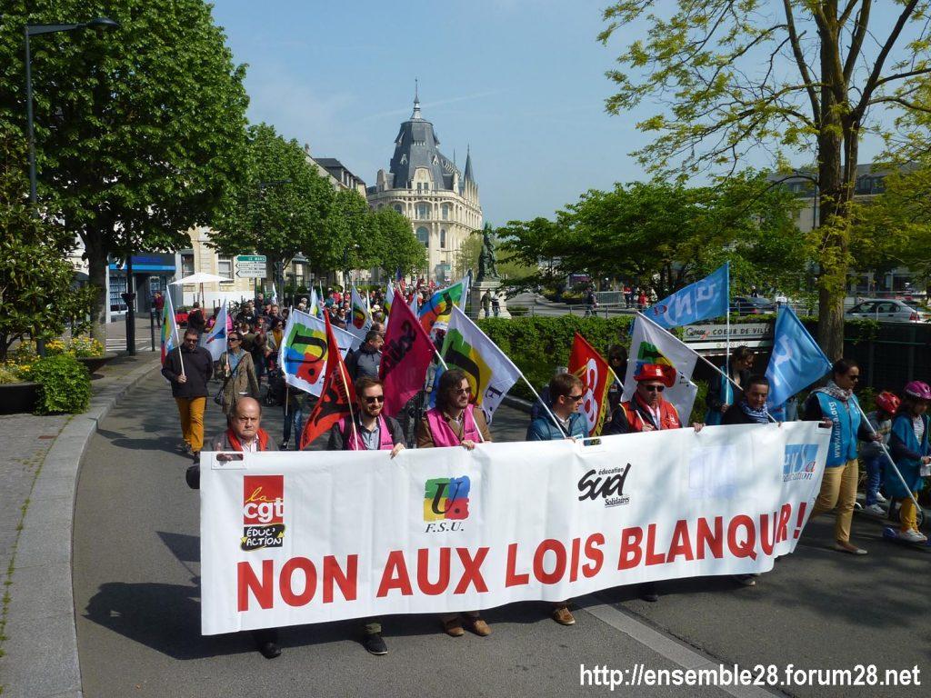 1er Mai 2019 Chartres Manifestation 02