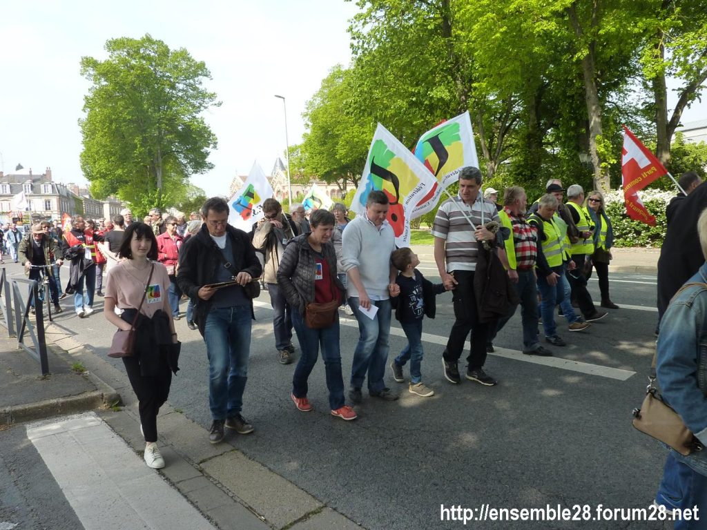 1er Mai 2019 Chartres Manifestation 04